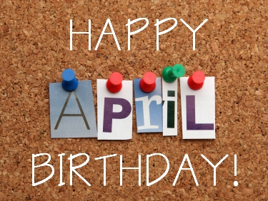 April Birthdays at ADC