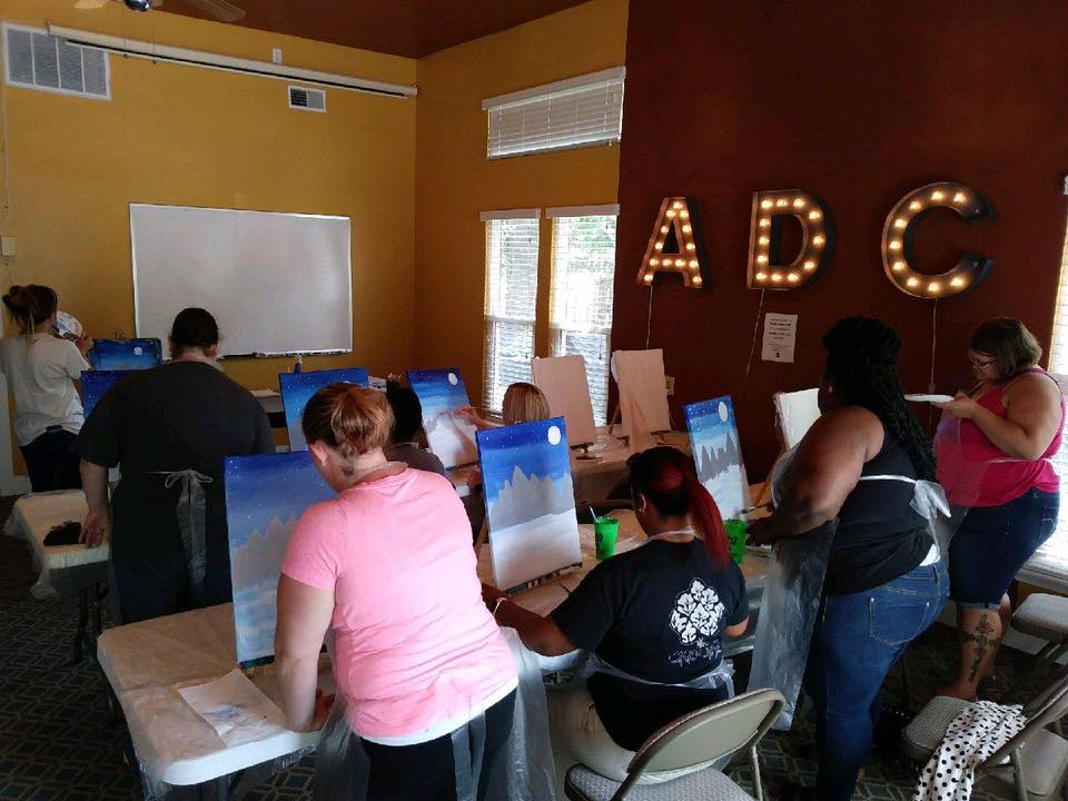 Lifetime Learners – ADC Learns to Paint!
