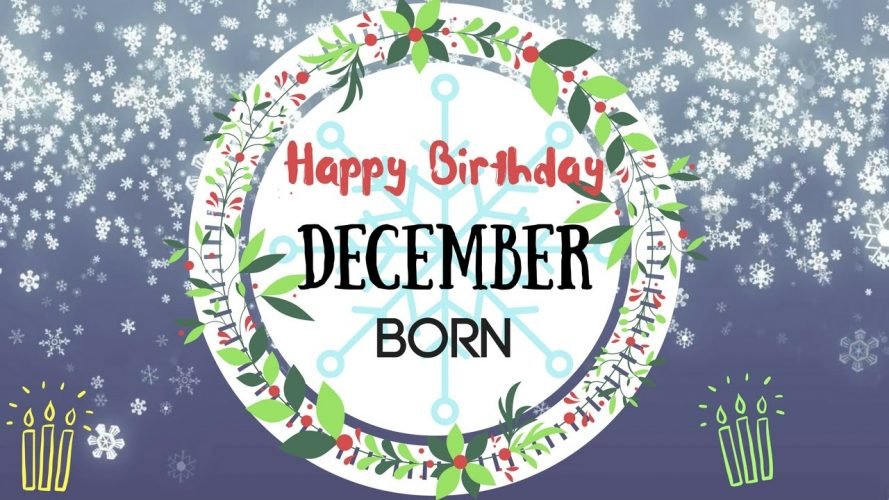 December Birthdays at ADC