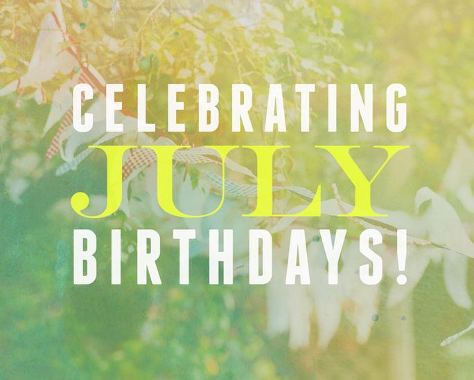 July Birthdays at ADC