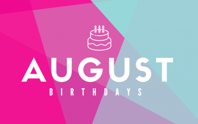 August Birthdays at ADC
