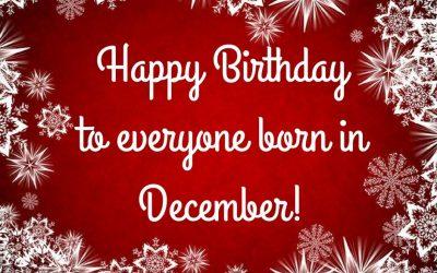 December Birthdays at ADC