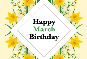 March Birthdays at ADC