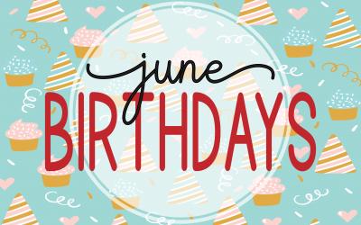 June Birthdays at ADC
