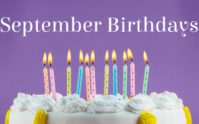 September Birthdays at ADC