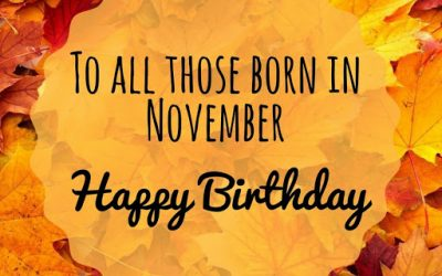 November Birthdays at ADC